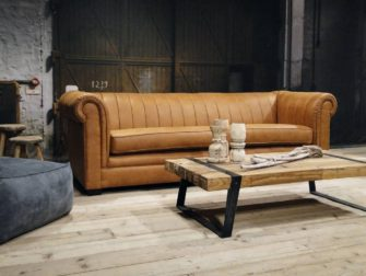cognac chesterfield