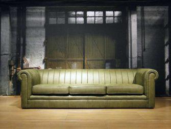 chesterfield 4 zitter groen