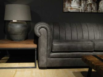 grote chesterfield grijs