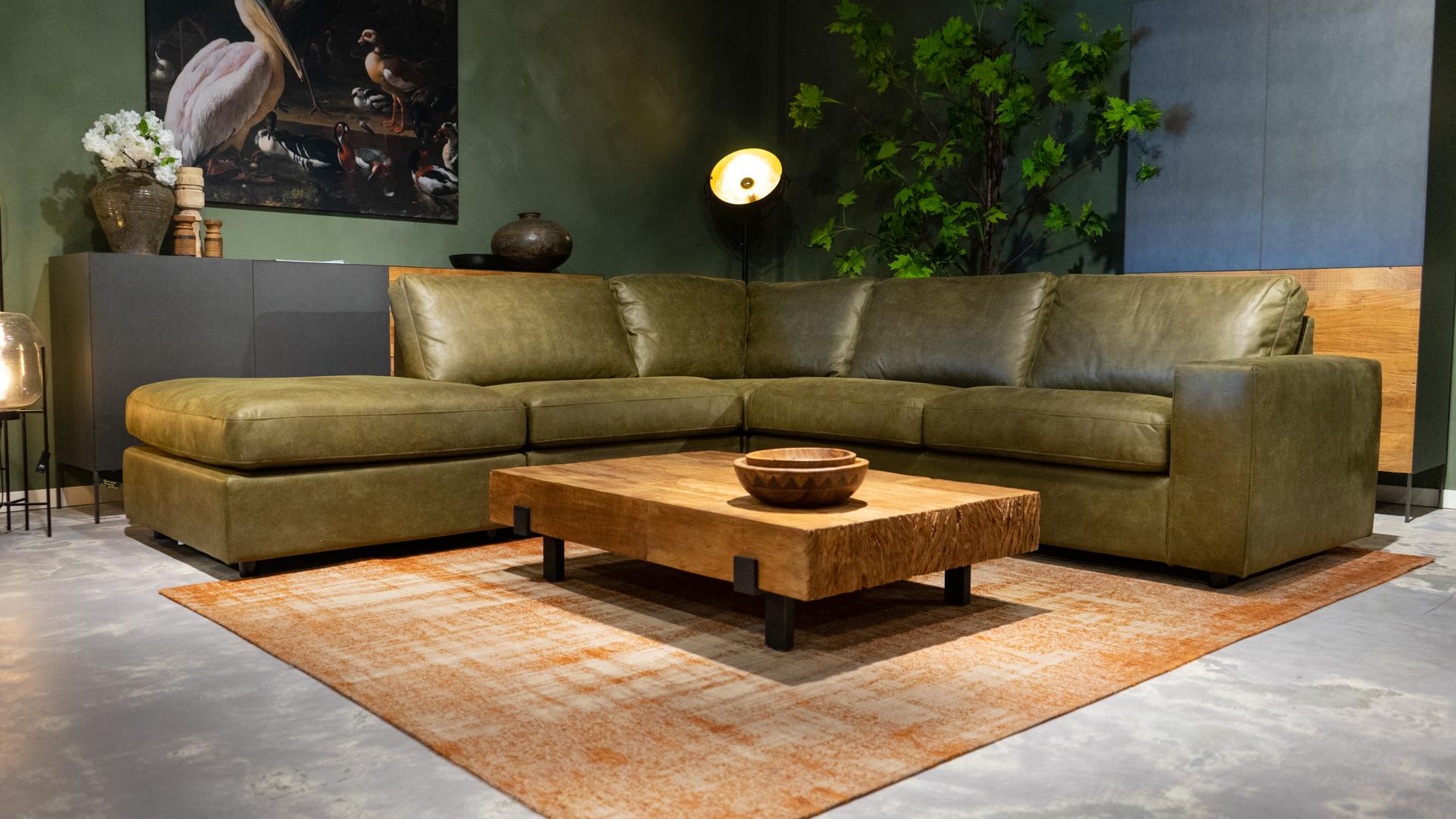 loungebank groen