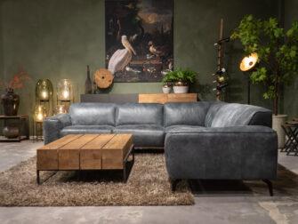 leren zetel