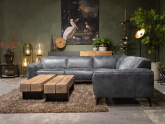 loungebank leer