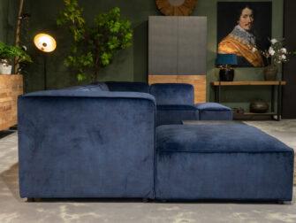 loungebanken blauw