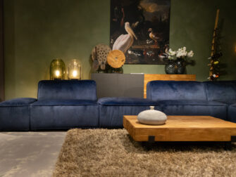 loungebank blauw