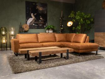 bruine lounge bank