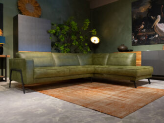 lounge bank groen