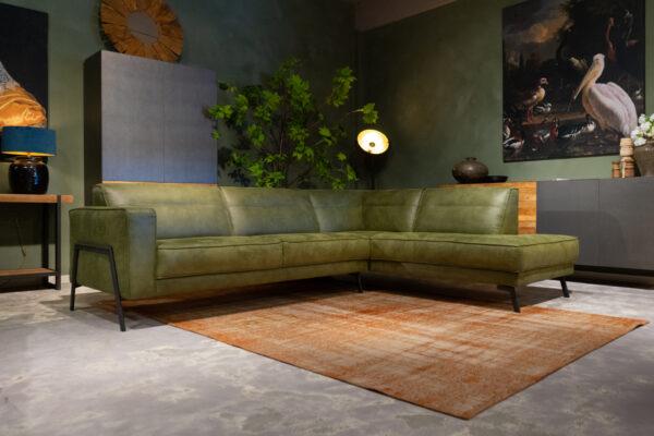 lounge bank groen