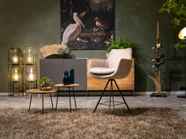 beige stoel