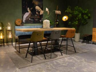 stalen bartafel