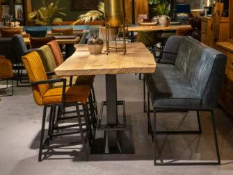 bartafel met bankje