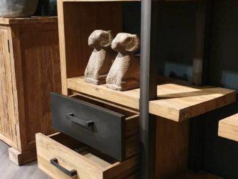 stijlvolle boekenkast hout