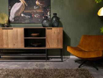 robuust dressoir teak