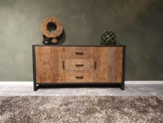 dressoir reclaimed teak