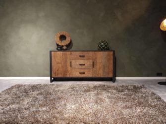 ruig dressoir oud hout