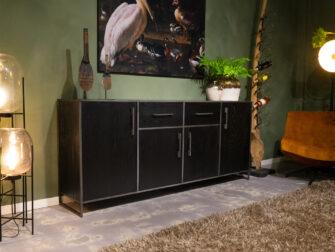 zwart dressoir