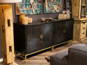 dressoir gouden details