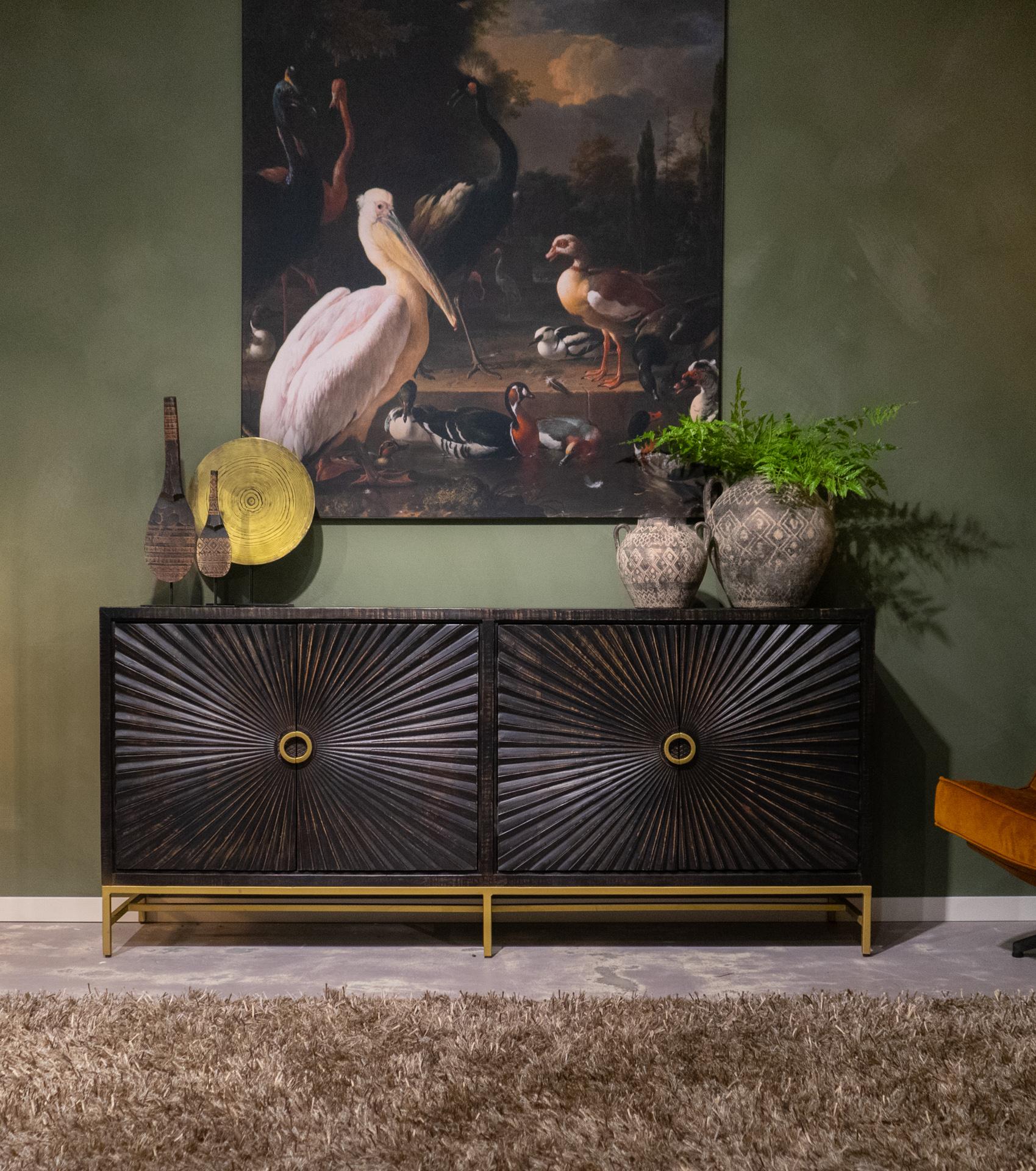goudzwart dressoir