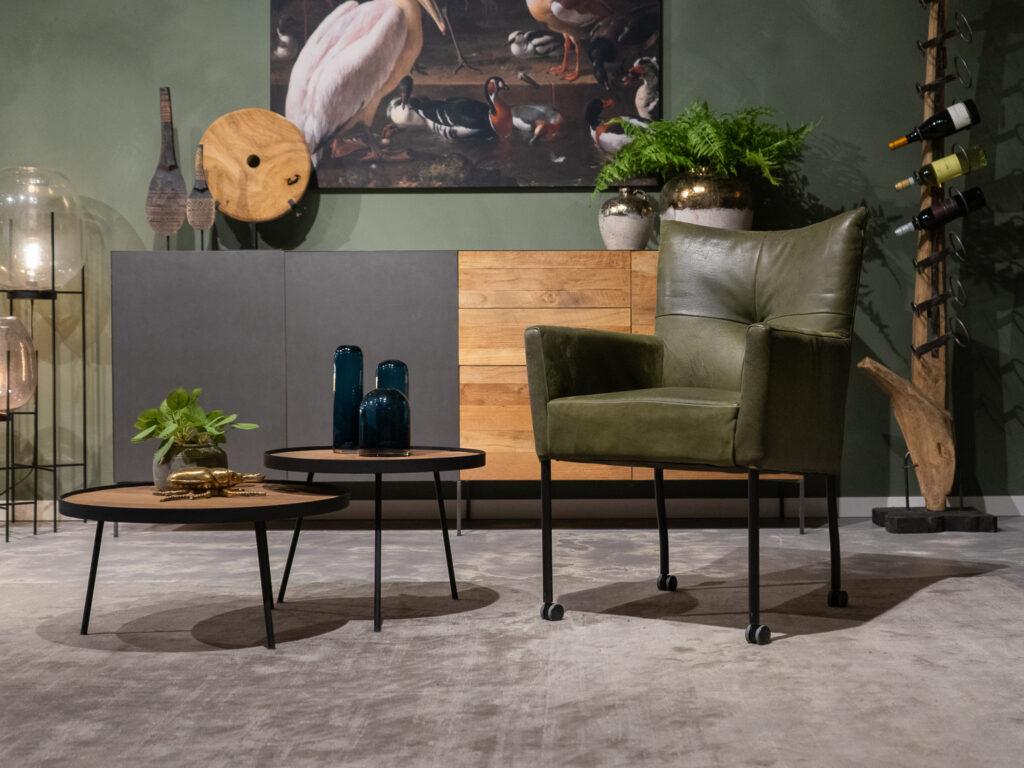 Comfortabele eetstoel