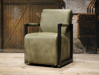 groene stoere stoel