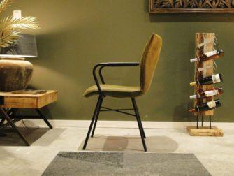 luxe groene stoel