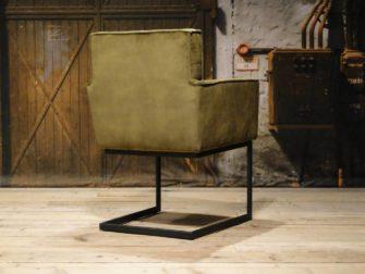 groene industriële stoel