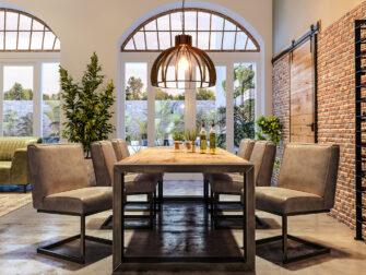 comfortabele eetkamerstoelen