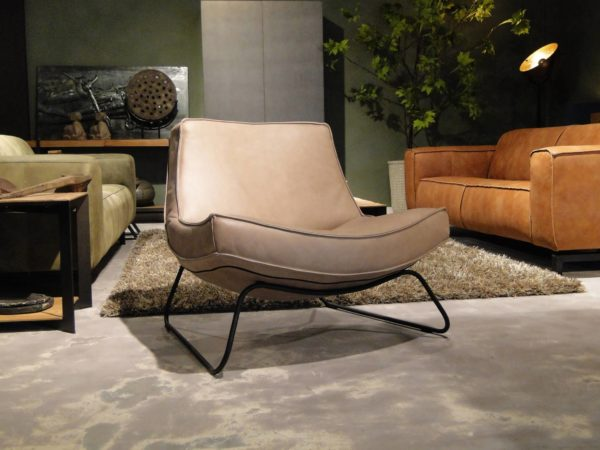 Relaxfauteuil taupe