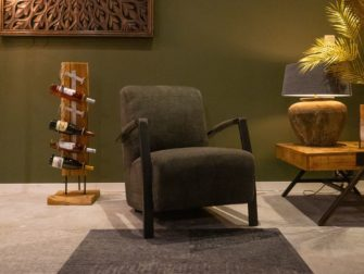 fauteuil stof groen