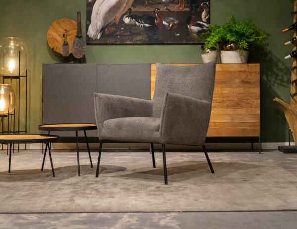 industriële fauteuil stof