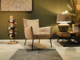 stijlvolle fauteuil met arm