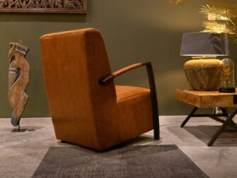 Fauteuil Chiron - bull eco leder - camel