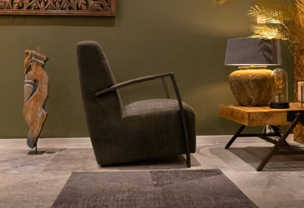 Fauteuil Donnely - silent stof - hunter