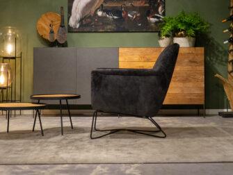 relax fauteuils antraciet