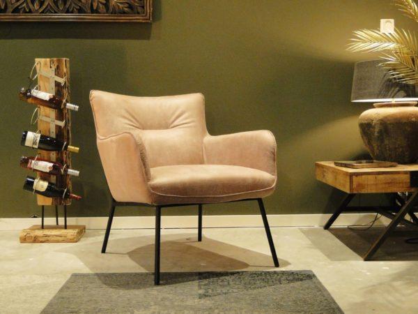 luxe relaxstoel leer