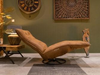fauteuil runderleer