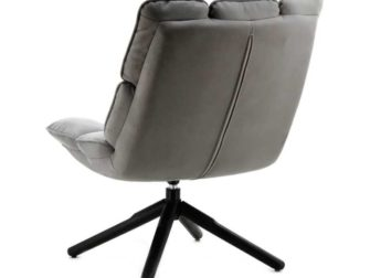 Fauteuil Mano - stof antraciet