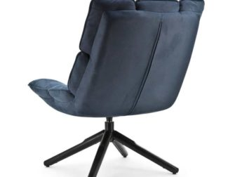 Fauteuil Mano - stof blauw