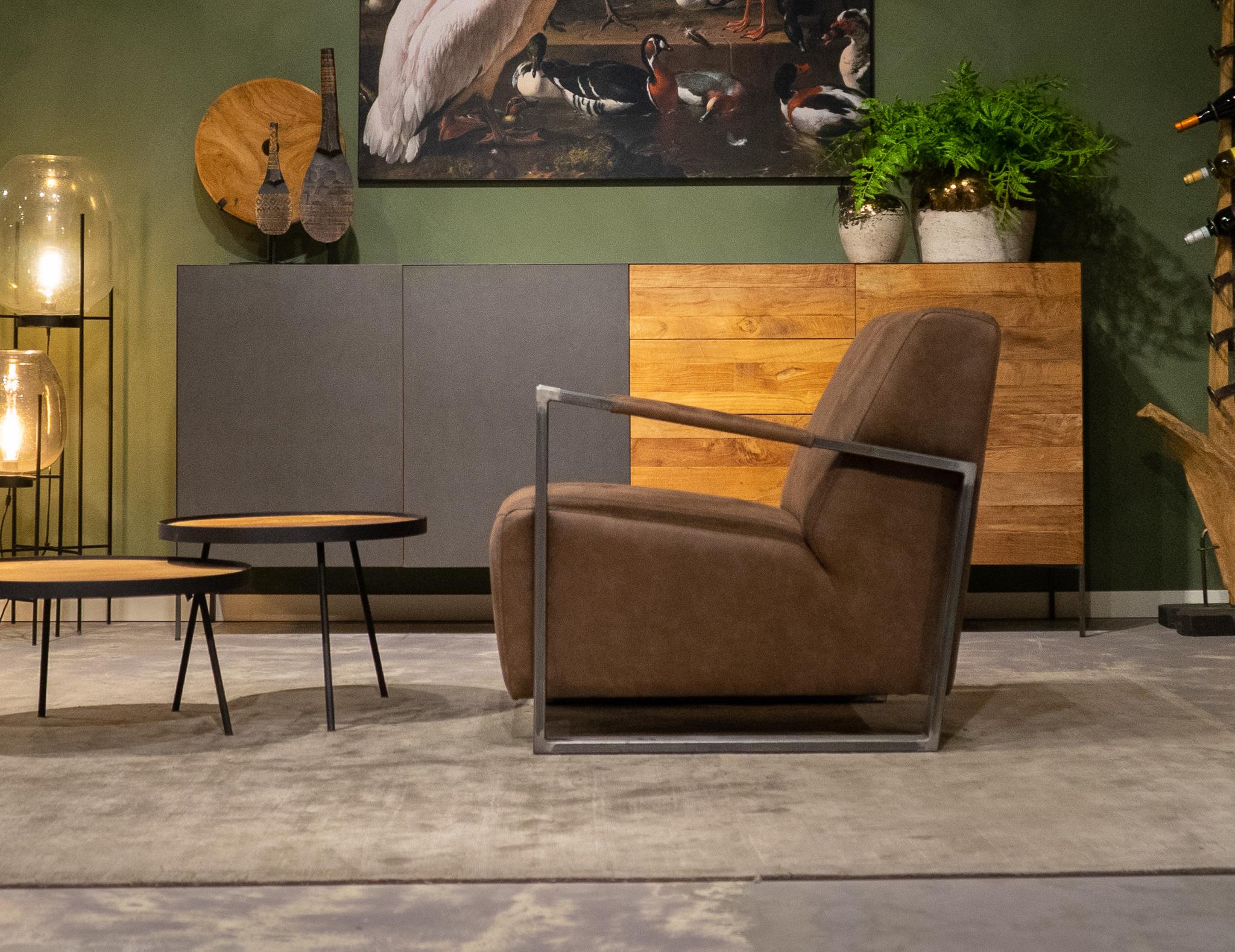 relax stoelen brown
