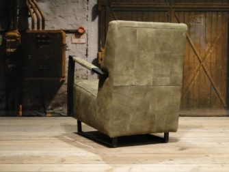 groene fauteuil