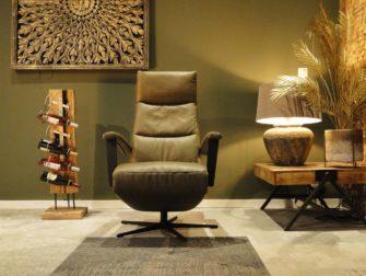 groene eletrische fauteuil