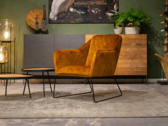 velvet relax stoel