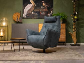 nederlandse fauteuil blauw