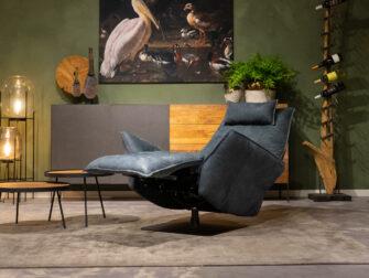 relax stoelen blauw
