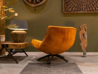 gouden fauteuil