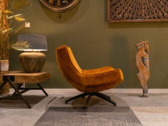 gouden stoel