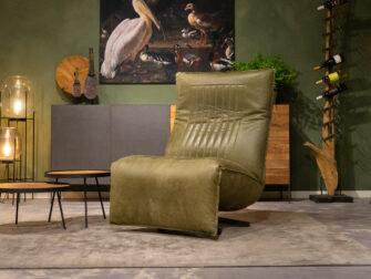 draaifauteuil groen
