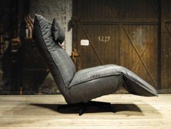 grijze relax fauteuil