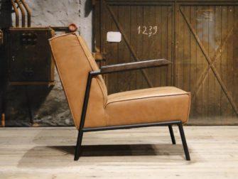 cognac fauteuil wiebe