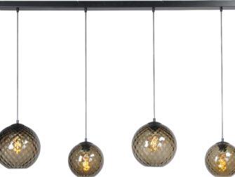 hanglamp smoke glas