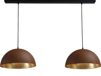 Industriele dubbele hanglamp